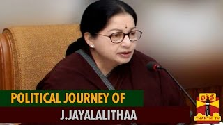 Watch Political Journey Of J.Jayalalithaa Thanthi tv News 23/May/2015 online
