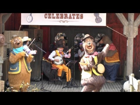 12 April 2012: Frontierland Celebrates! Disneyland Paris 20th Anniversary (HD)