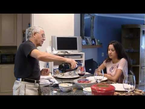 Fondue Recipe - Fondue Oil and Meat Preparation