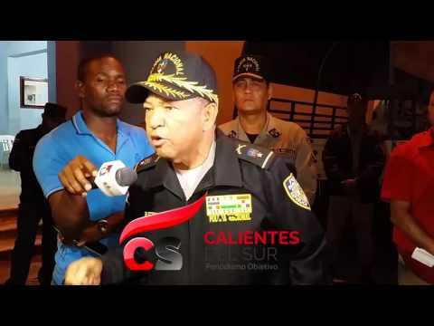 General humilla e insulta a agentes al darle de baja de PN