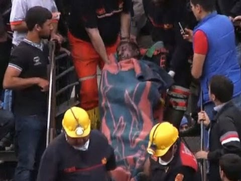Hundreds killed in (Turkey) coal mine, many still trapped  5/15/14