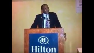 Leçon inaugurale du Dr Ernest SIMO lors des JERSIC 2015
