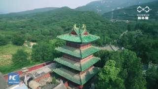 Amazing view of Shaolin Temple, cradle of Chinese Kung Fu