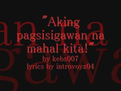 Aking pagsisigawan na mahal kita Slamdunk Opening Tagalog Fandub