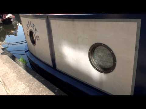 Mirrlees Narrowboat Outside - For SALE in London.