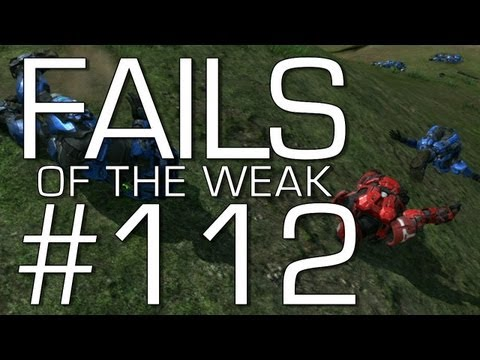 Halo: Reach - Fails of the Weak Volume 112! (Funny Halo Fails and Bloopers!)