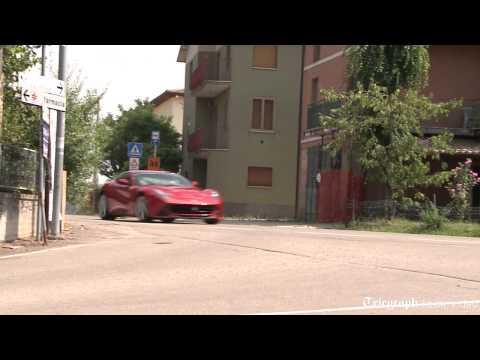 Ferrari F12 berlinetta test drive
