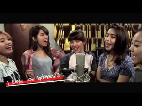 I Love You Indonesia (Video Lirik)