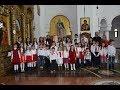 Primii colindători la Catedrala Episcopală din Caransebeș