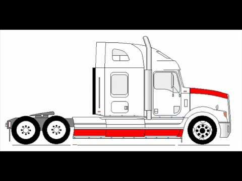 Dibujos de camiones