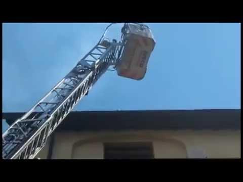 حريق منزل في فلورنسا، إيطاليا