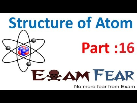 Chemistry Structure of Atom part 16 (Line spectrum : particle nature of electron) CBSE class 11 XI