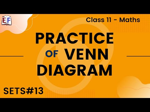 Maths Sets Mathematics CBSE Class X1 Part 13 (Venn Diagram - Practice)