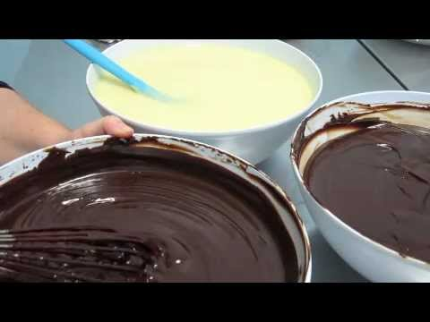 how to make chocolate ganache for decorating cakes Part 1 of 3 Inspired by Michelle Cake Designs