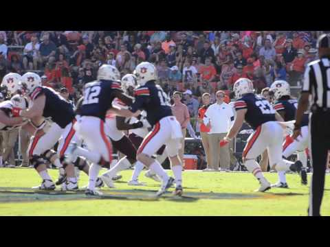 A highlight reel of the Auburn Tigers' 58-7 victory over the University of Louisiana-Monroe Warhawks.