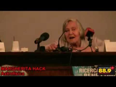 Roma, 25 marzo 2010. 1/3 Margherita Hack al Convegno RICERCA PUBBLICA COME BENE COMUNE
