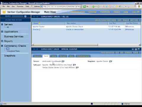 Symantec Veritas Configuration Manager Demo