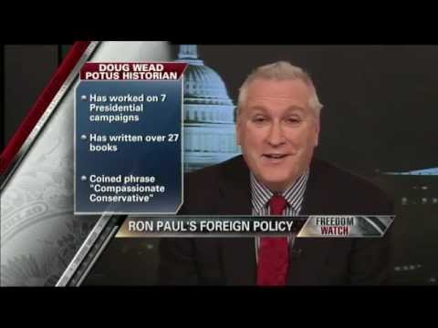Doug Wead explains Ron Paul's foreign policy 12/20/11