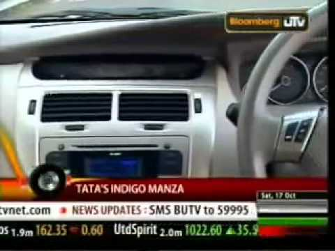 Tata Manza in AutoCar India Show - Bloomberg TV