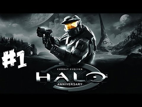 Halo Anniversary Walkthrough Part 1 HD - Let-s Play (Xbox 360 Gameplay & Commentary)