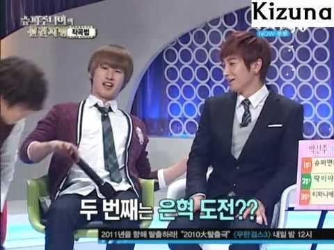 101229 Super Junior singing NEW Versions of ''Sorry Sorry'' @ Super Junior's Foresight