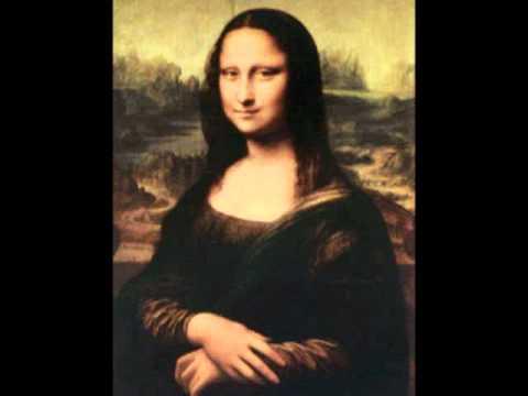 Audiodescrição - Quadro da Monalisa de Leonardo da Vinci