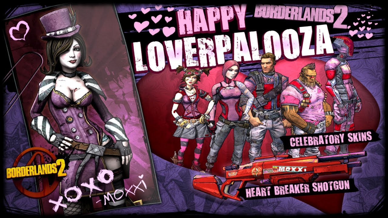 Borderlands nude skins xxx photos