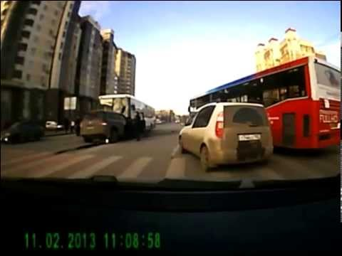 ДТП в Уфе 2 ноября перекресток Цюрупы и Кирова