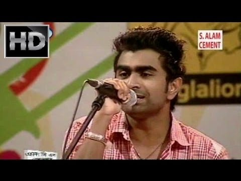 Manena Mon by Imran & Puja - Live Studio Concert [Bangla Music Video 2013 HD]