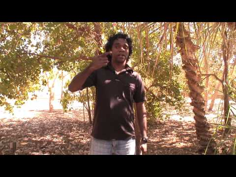 Clifton Bieundurry - traditional hand signs (Australia)