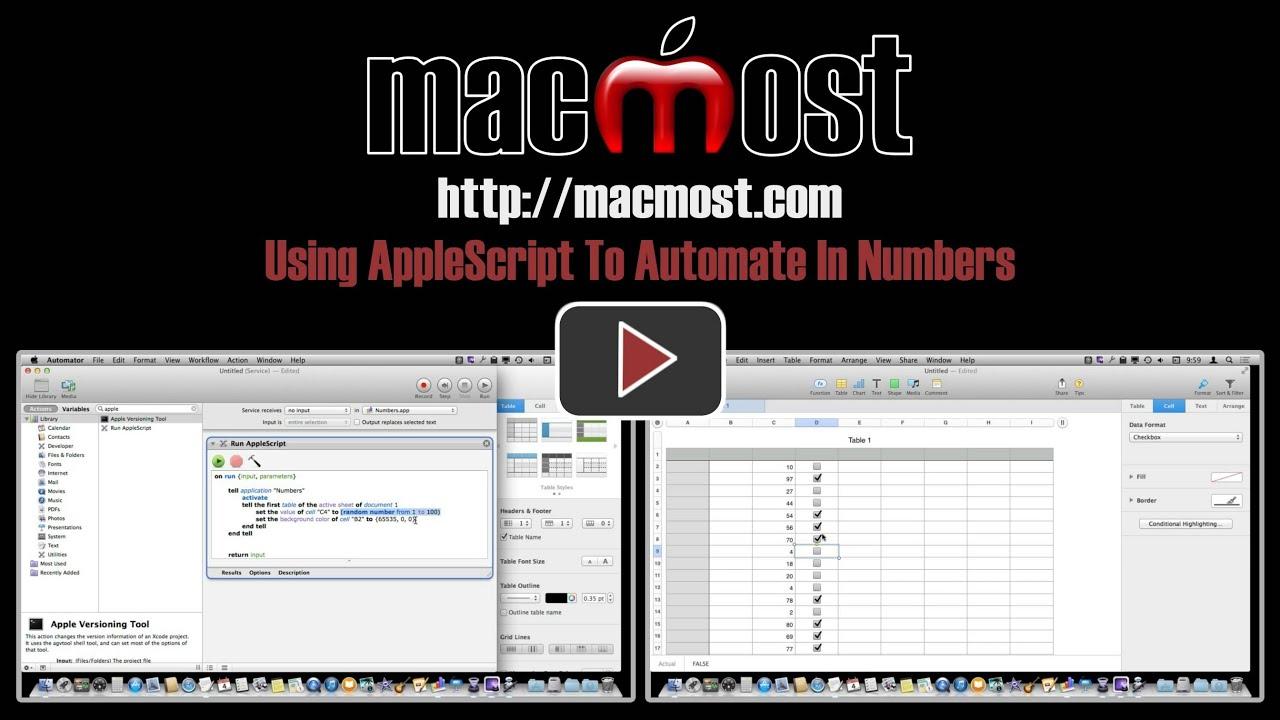 AppleScript Programming/Basic commands