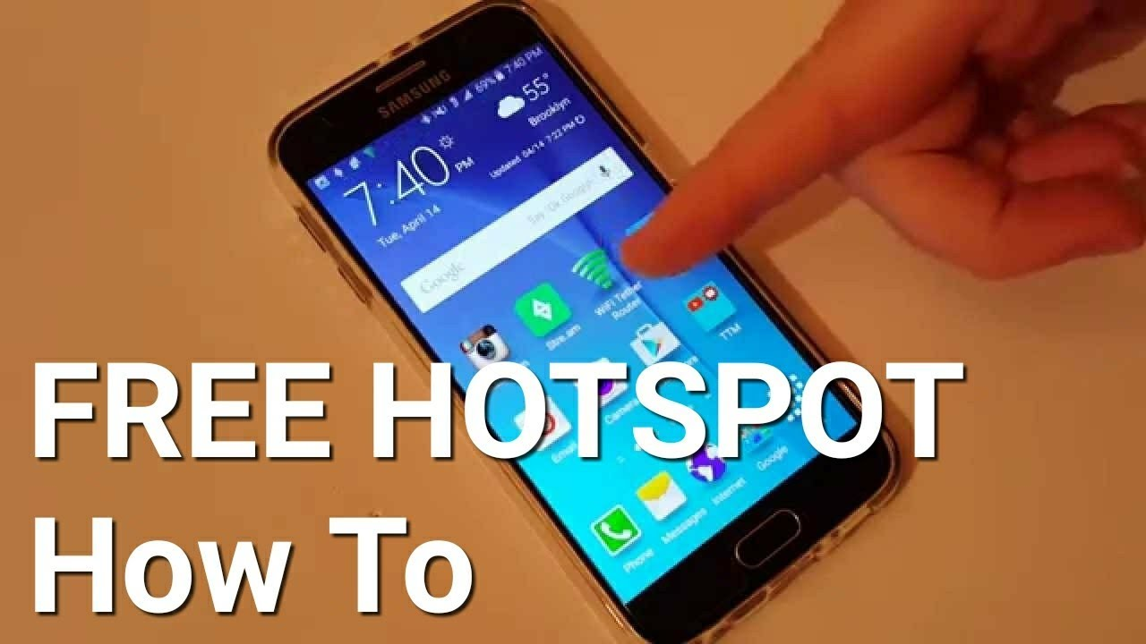 Unlimited Free Hotspot Galaxy S6 How To