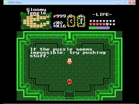 Let's Play! Legend of Zelda, Souls of Wisdom Pt. 15! Swimming, acid, pain, and silver arrows!