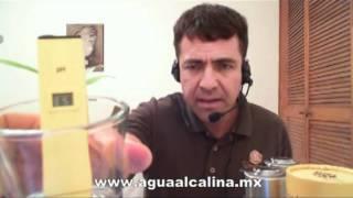 Agua Alcalina, Alcalinizador de Agua PORTATIL
