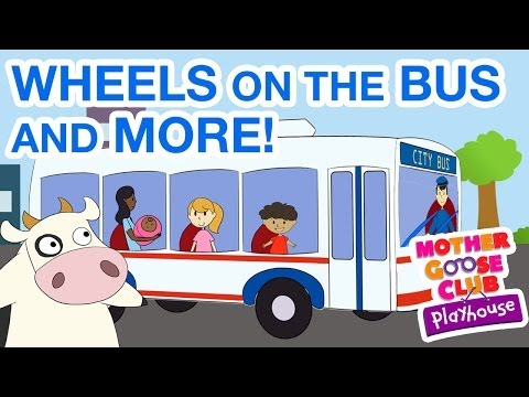 Wheels on the Bus and More - Kids Cartoon Collection