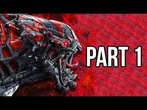 Evolve Gameplay Walkthrough - Part 1 Big Alpha - MONSTER NAIL BITER!! (XB1/PS4/PC 1080p HD)