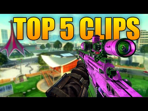 #RedRC Top 5 Clips of The Week - Insane 5 On Screen Headshot - (Black Ops 2)