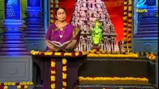 Gopuram Special Program by SandhyaLakshmi Show on 08-08-2012 (Aug-08) Zee Telugu TV