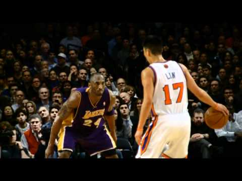 Jeremy Lin vs Kobe Bryant