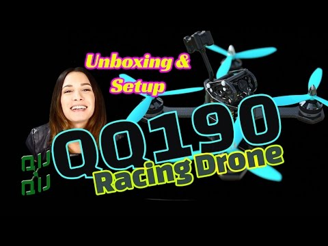 QQ190 RTF Racing Drone Unboxing and Initial Setup - default