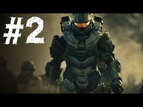 Halo 4 Gameplay Walkthrough Part 2 - Campaign Mission 2 - Requiem (H4)