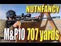 Ranging Long: M&P10 at 707 yards