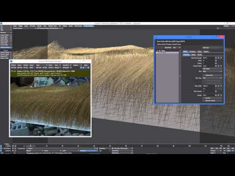 Octane Render for LightWave: FiberFX in Octane Render