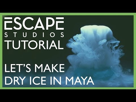 Let's make dry ice in Maya