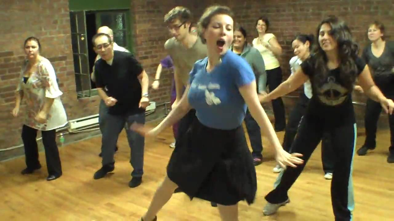 Toronto Swing Dance Lessons: Bees' Knees Dance 10 Year Anniversary Mob Dance!