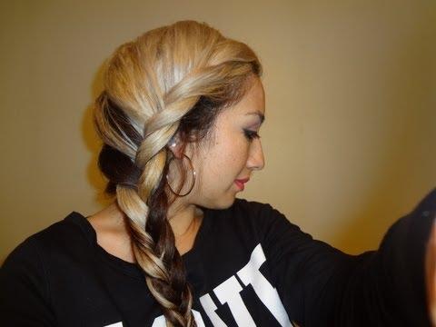 WINTER Hair Fishtail Braid Styles
