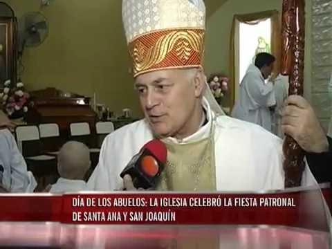 Festejo Patronal de San Joaquín y Santa Ana, quienes fueran los abuelos de Jesús