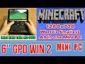 GPD WIN 2 Minecraft - 256 GB SSD 8GB RAM Mini PC Intel m3-7Y30 HD Graphics 615