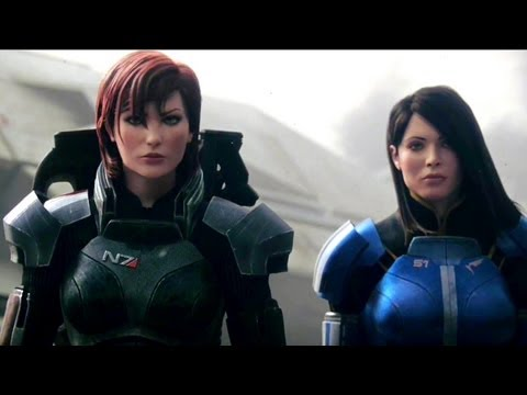 "Mass Effect 3 - ""Female Shepard"" Launch Trailer (2012) FULL HD"
