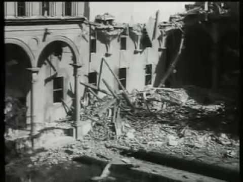 Università Cattolica distrutta dai bombardamenti